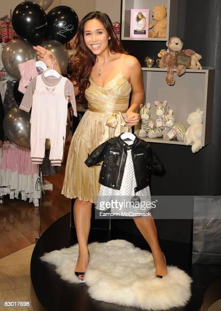 Myleene Klass launches her new baby range 'Baby K' at Mothercare on September 26 2008 in London England