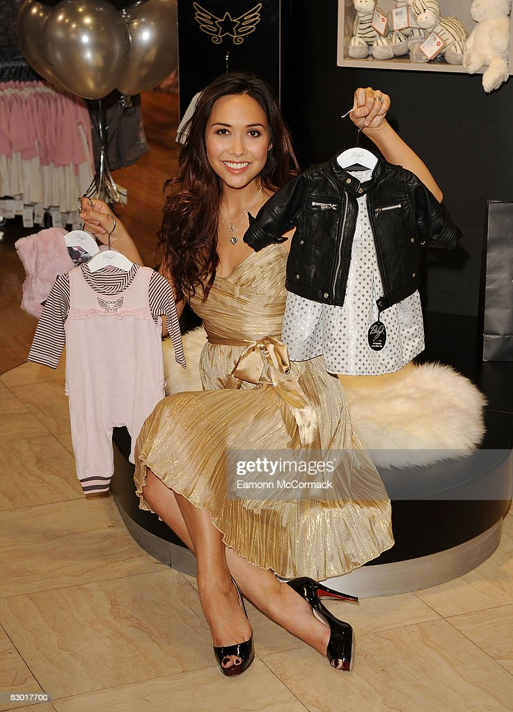 Myleene Klass Launches Her New Baby Clothes Range 'Baby K' At Mothercare : News Photo