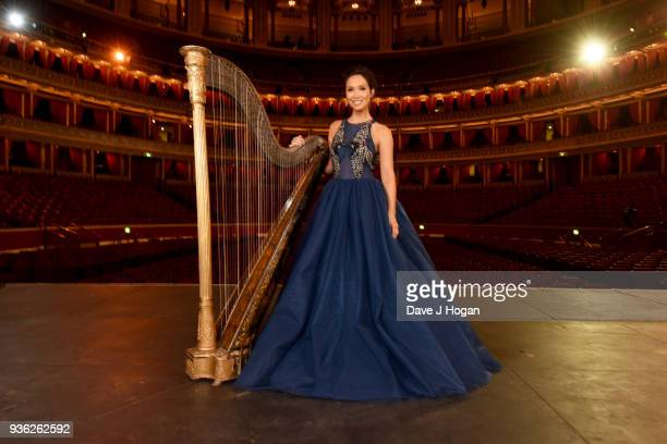 Myleene Klass launches the Classic BRIT Awards 2018 at the Royal Albert Hall on March 20 2018 in London England The ceremony returns for the first...