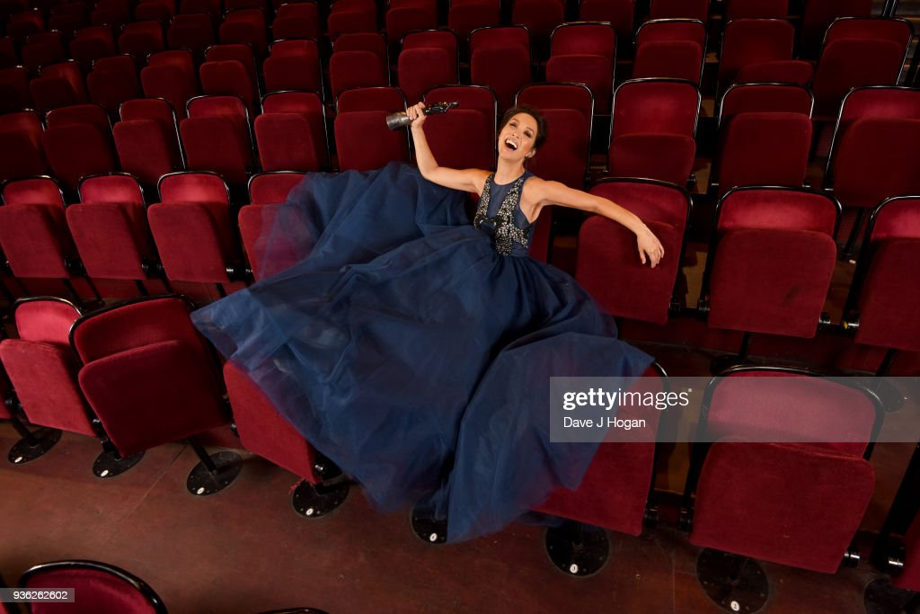 Myleene Klass launches the Classic BRIT Awards 2018 at the Royal Albert Hall on March 20, 2018 in London, England. The ceremony returns for the first time since 2013 at the Royal Albert Hall on June 13th 2018. The awards celebrate music from the world of classical, film, television, theatre and games.