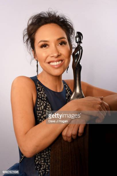 Myleene Klass launches the Classic BRIT Awards 2018 at The Trafalgar St James Hotel on March 20 2018 in London England The ceremony returns for the...