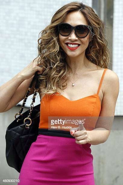 2b171c34cea79 Myleene Klass leaves the ITV Studios after hosting  Loose Women  on June 20  2014