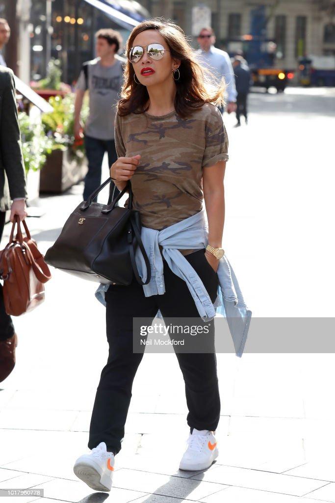 London Celebrity Sightings -  August 17, 2018