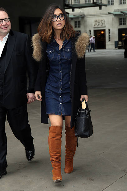 54af23e9c7987 Myleene Klass seen at BBC Radio Studios on December 7