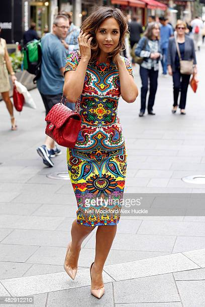 1a7fb19ac5bca Myleene Klass seen leaving the Smooth Radio Studios on August 4 2015 in London  England