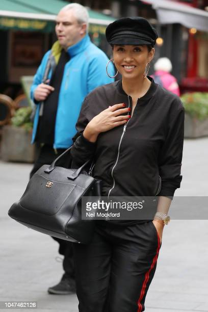 17f19525106eb Myleene Klass seen leaving the Smooth Radio Studios on October 8 2018 in London  England