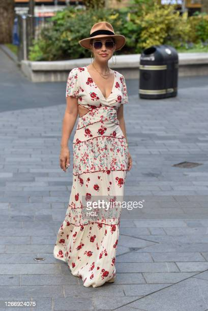 Myleene Klass sighting on August 18 2020 in London England