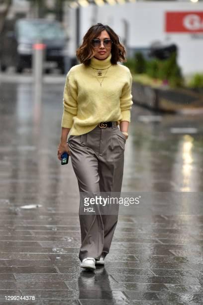 Myleene Klass sighting on January 29, 2021 in London, England.