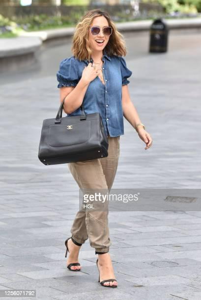 Myleene Klass sighting on July 14 2020 in London England