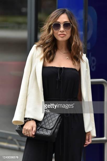 Myleene Klass sighting on June 03 2020 in London England