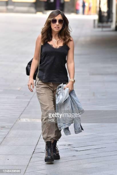 Myleene Klass sighting on June 09, 2020 in London, England.