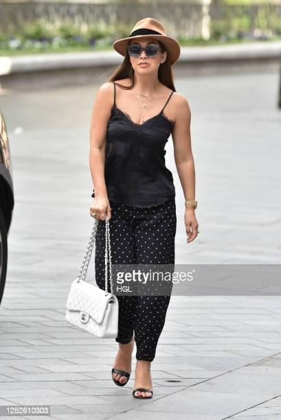 Myleene Klass sighting on June 26, 2020 in London, England.
