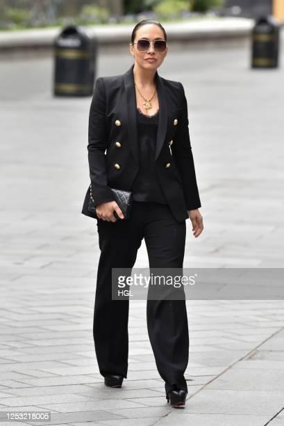 Myleene Klass sighting on June 29, 2020 in London, England.