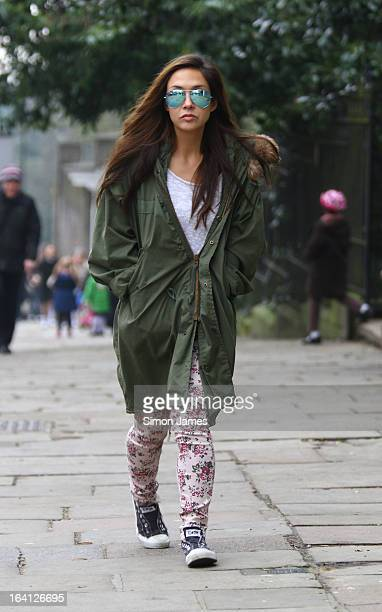 Myleene Klass sighting on March 20 2013 in London England