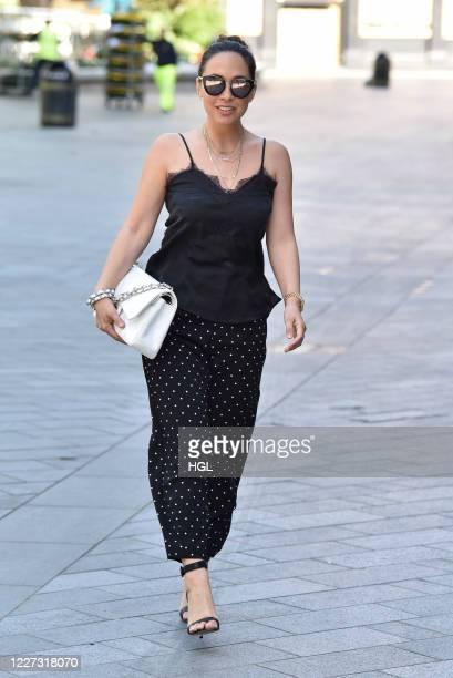 Myleene Klass sighting on May 27, 2020 in London, England.