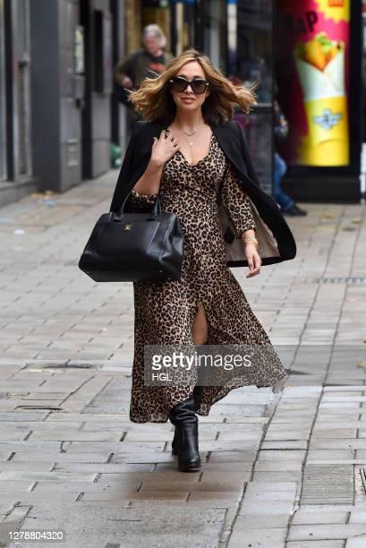 Myleene Klass sighting on October 06, 2020 in London, England.
