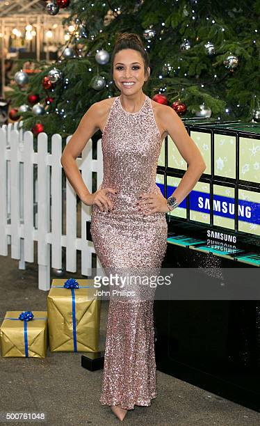 98860a85a22d0 Myleene Klass unveils the world s first Samsung tablet piano at London s  Spitalfields Market on December 10