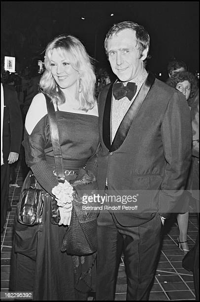 Mylene Demongeot and Marc Simenon at 1983 International Cannes Festival