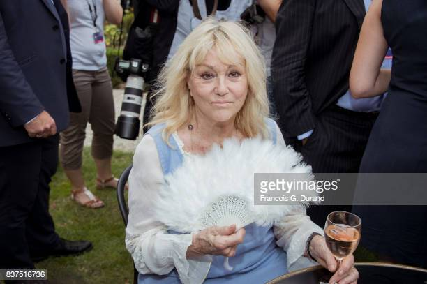 Mylene Demongeot attends the 10th Angouleme FrenchSpeaking Film Festival on August 22 2017 in Angouleme France
