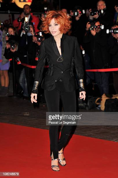 Mylene Farmer attends the NRJ Music Awards 2011 on January 22 2011 at the Palais des Festivals et des Congres in Cannes France