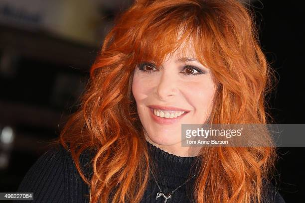 Mylene Farmer attends the17th NRJ Music Awards at Palais des Festivals on November 7 2015 in Cannes France