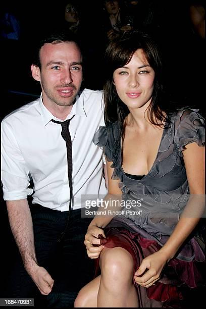 Mylene Jampanoi and Alexis Roche John Galliano fashion show masculine collections spring summer 2007