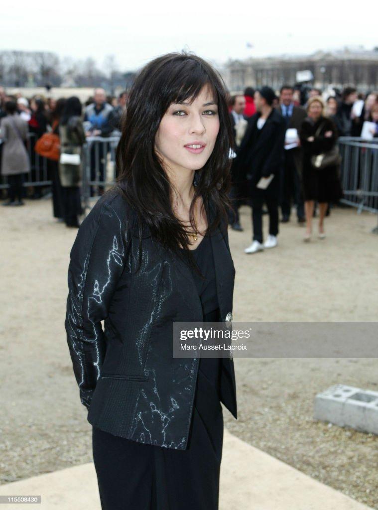 Paris Fashion Week Fall/Winter 2007 - Christian Dior - Arrivals