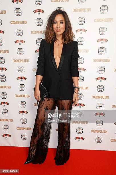 Mylene Klass attends the Cosmopolitan Ultimate Women Of The Year Awards at One Mayfair on December 2 2015 in London England