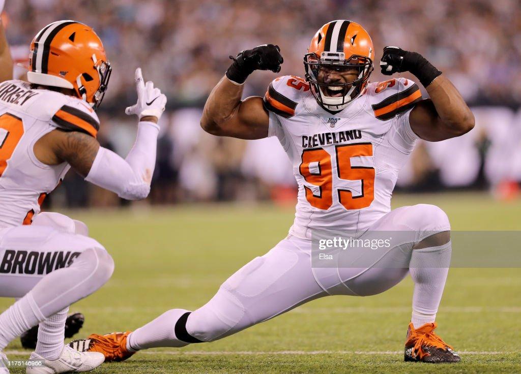 Cleveland Browns vNew York Jets : News Photo
