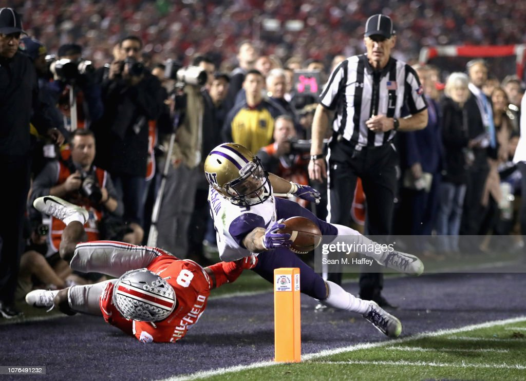 Rose Bowl Game Presented by Northwestern Mutual - Washington v Ohio State : News Photo