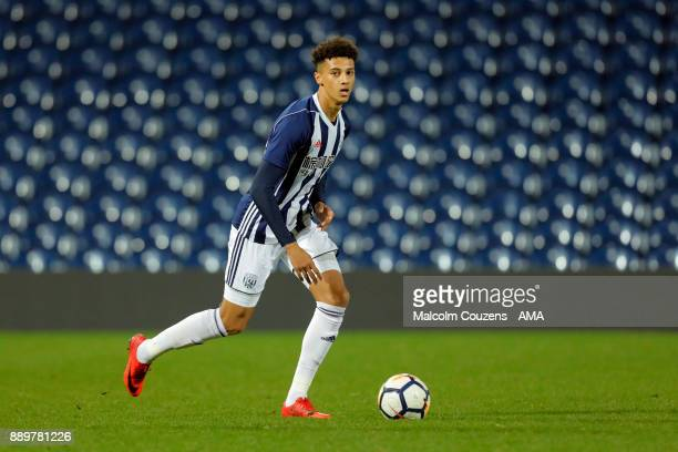 Myles Hall of West Bromwich Albion during the FA Youth Cup game between West Bromwich Albion and Leyton Orient on December 5 2017 in West Bromwich...