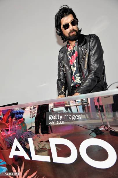 Myles Hendrik attends the Aldo LA Nights 2018 at The Rose Room on June 13 2018 in Venice California