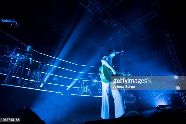 Myles Kellock, Tom Ogden, Joe Donovan and Charlie Salt of Blossoms perform live on stage at O2 Academy Leeds on May 7, 2018 in Leeds, England.