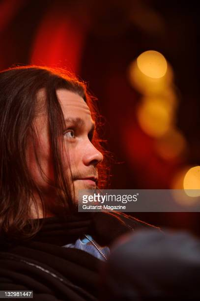 Myles Kennedy lead vocalist and rhythm guitarist of American rock band Alter Bridge During an interview on October 26 Colston Hall
