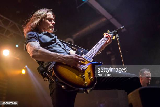 Myles Kennedy of Alter Bridge performs in concert at Razzmatazz on October 26 2017 in Barcelona Spain