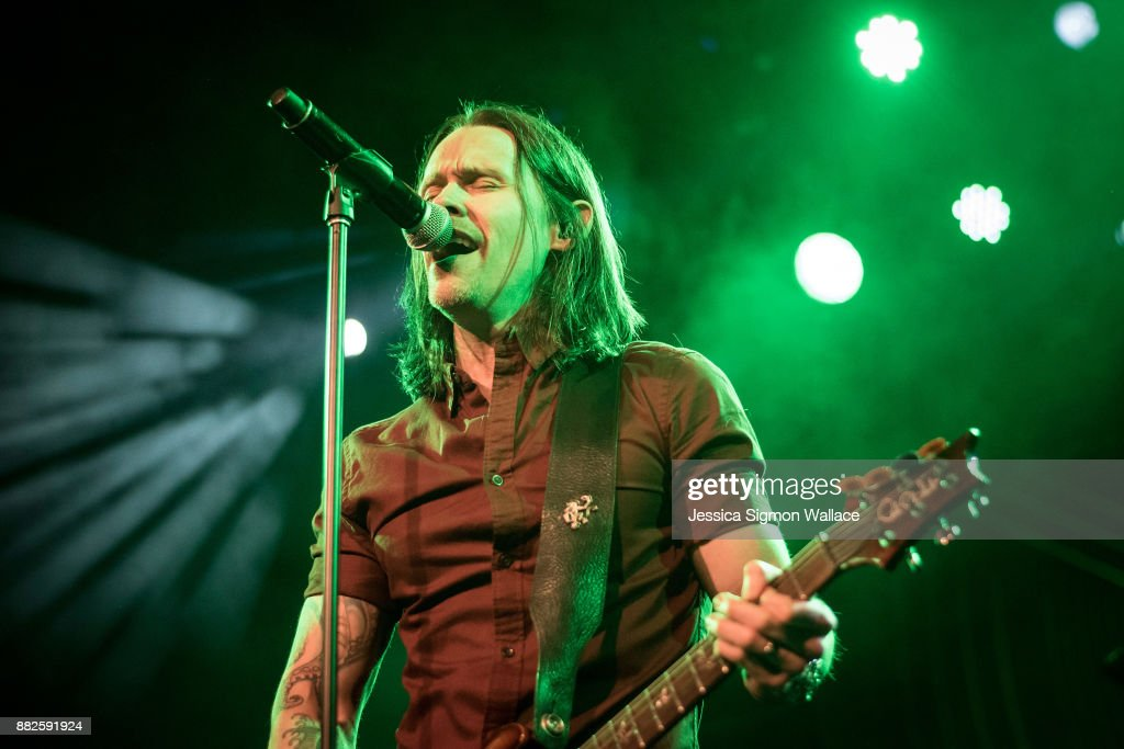 Myles Kennedy of Alter Bridge performs onstage at Iron City on November 29, 2017 in Birmingham, Alabama.