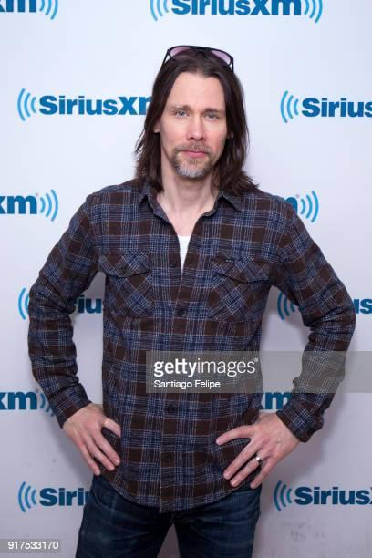 Myles Kennedy visits SiriusXM Studios on February 12 2018 in New York City