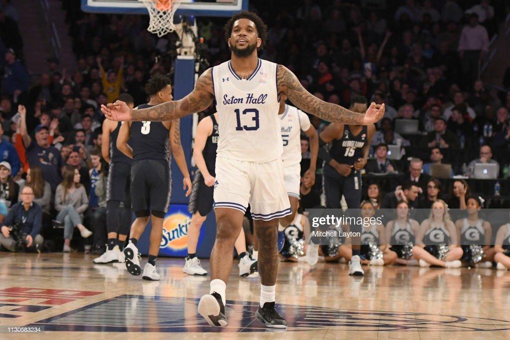 Big East Mens BasketballTournament - Quarterfinal Round : News Photo