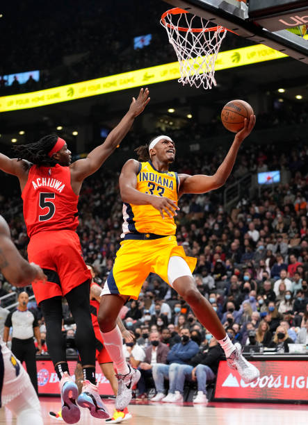 CAN: Indiana Pacers v Toronto Raptors