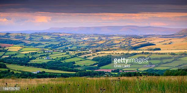 Mynydd Du, Black Mountains, Brecon Beacons, Powys