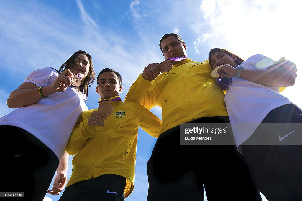 Brazilian Olympic Judo Team - Press Conference