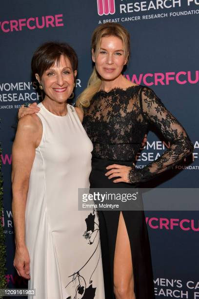 Myra Biblowit and honoree Renée Zellweger attend WCRF's An Unforgettable Evening at Beverly Wilshire A Four Seasons Hotel on February 27 2020 in...