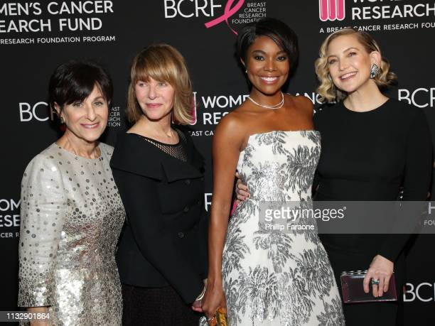 Myra Biblowit, Kate Capshaw, Gabrielle Union, and Kate Hudson attend The Women's Cancer Research Fund's An Unforgettable Evening Benefit Gala at the...