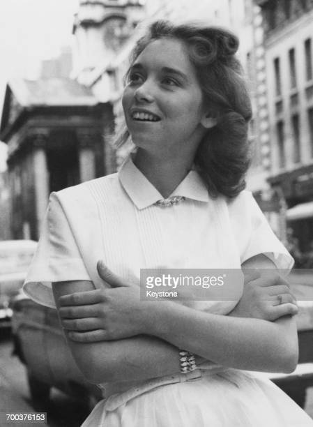 Myra Brown first cousin once removed and third wife of American rock and roll star Jerry Lee Lewis in London at the beginning of Lewis's planned...