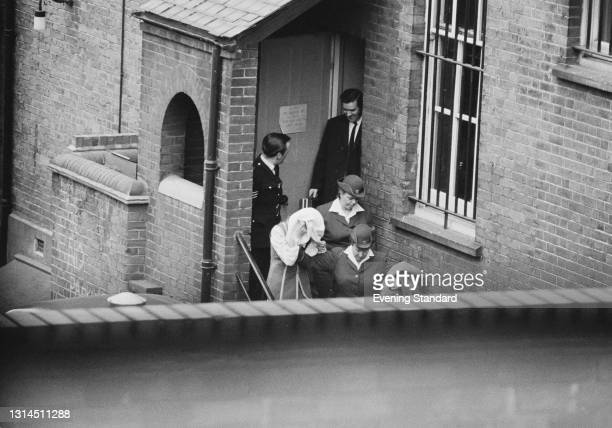 Myra Hindley, one of the Moors murderers, at Holloway Prison in London, UK, 1st February 1974.