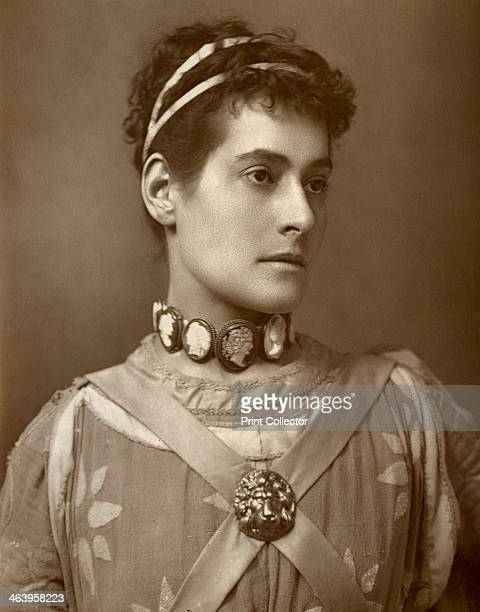 Myra Holme British actress 1884 A photograph from The Theatre A Monthly Review Volume IV July to December edited by Clement Scott David Bogue London...