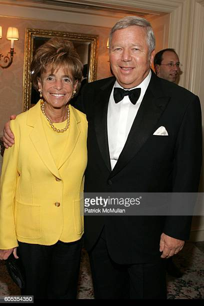 Myra Kraft and Robert Kraft attend Museum of the Moving Image Honors George Bodenheimer and Stephen Burke at Grand Ballroom on May 4 2006 in New York...