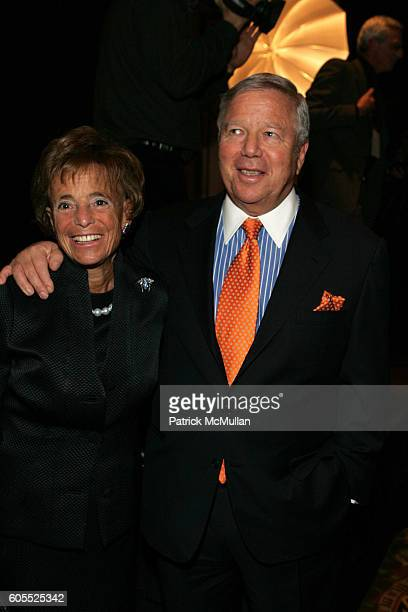 Myra Kraft and Robert Kraft attend Simon Wiesenthal Center Honors Media Mogul Rupert Murdoch with Nicole Kidman Fox News Channel's Lauren Green and...