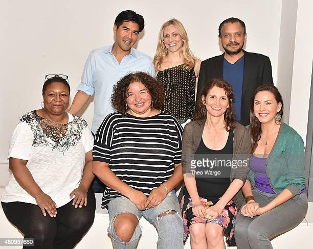 "Myra Lucretia Taylor, Pun Bandhu, Director Liesl Tommy, Tina Benko, Deborah Zoe Laufer, Jesse J. Perez and DeLanna Studi attend the ""Informed..."