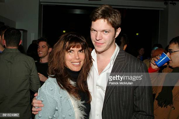 Myra Scheer and Chris Williamson attend BoConcept KolDesign Hoilday Party at BoConcept on December 14 2005 in New York City